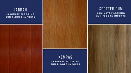 Sun Floors sells Laminate Flooring