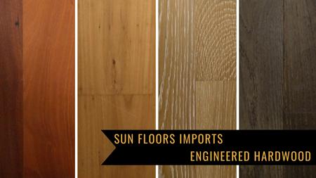 Sun Floors sells Engineered Wood