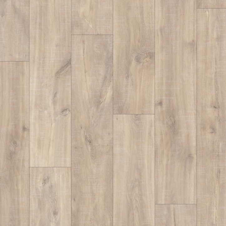 Sun Floors Imports- QSC - Havanna Oak Natural with Saw Cuts