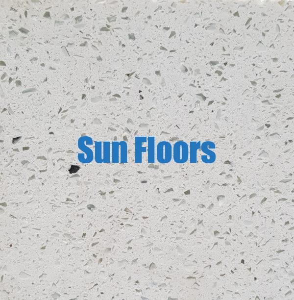 Sun Floors Imports- Silver Star White