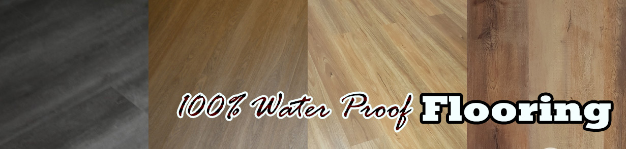100% water proof flooring