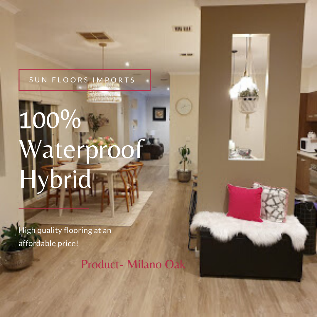 100% Waterproof Flooring